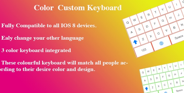 Color Keyboard Universal - CodeCanyon Item for Sale