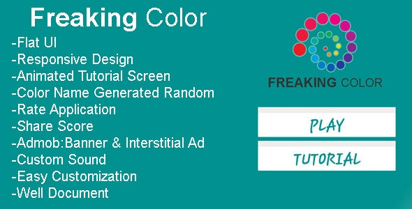 Freaking Color - CodeCanyon Item for Sale