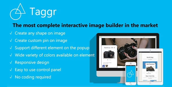 Taggr - Interactive Image Builder for Wordpress - CodeCanyon Item for Sale