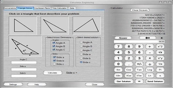 Advanced Calculator Enginering - CodeCanyon Item for Sale