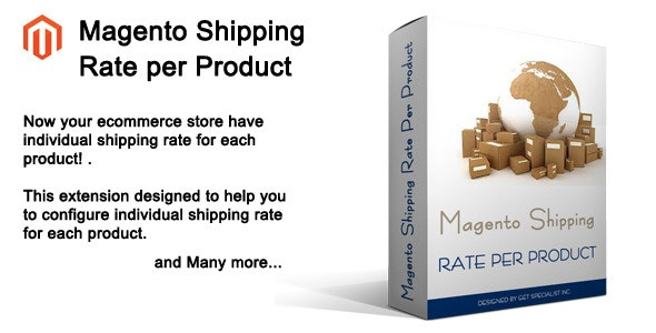 Magento Shipping Rate per Product - CodeCanyon Item for Sale