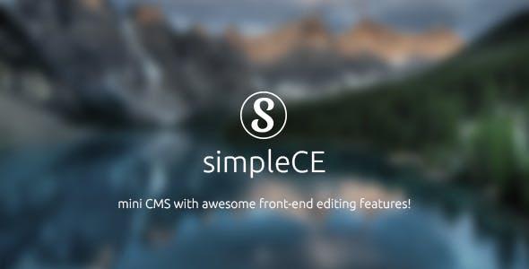 simpleCE v.2 - mini CMS
