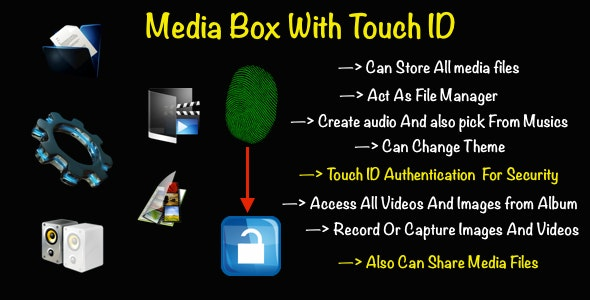 Media Box With Touch ID - CodeCanyon Item for Sale