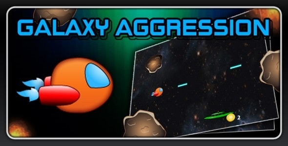 Galaxy Aggression - Endless Shooter - CodeCanyon Item for Sale