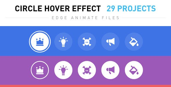 Circle Hover Effects