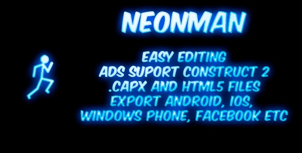 Neonman - CodeCanyon Item for Sale