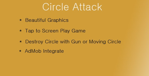 Circle Attack - CodeCanyon Item for Sale
