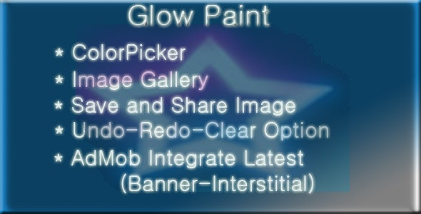 Glow Paint - CodeCanyon Item for Sale
