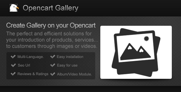 Opencart Gallery  - CodeCanyon Item for Sale