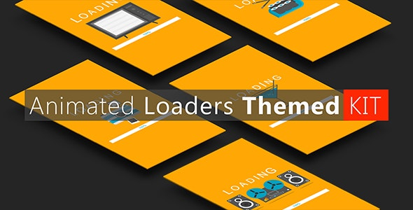 Animated Loaders Themed KIT (Update) - CodeCanyon Item for Sale