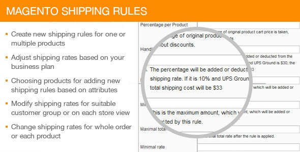 Magento Shipping Rules - CodeCanyon Item for Sale