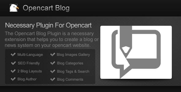 Opencart Blog