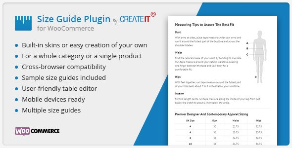 WooCommerce Product Size Guide - CodeCanyon Item for Sale