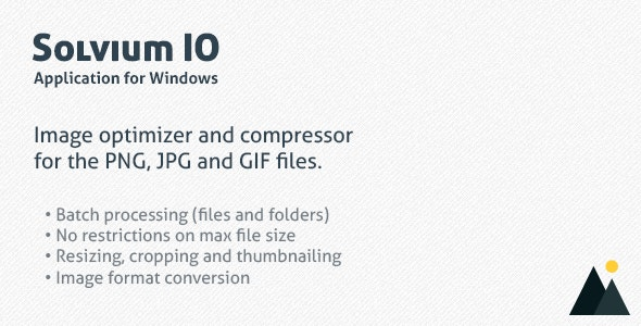 Solvium Image Optimizer - CodeCanyon Item for Sale