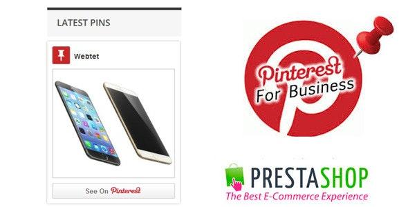 Pinterest Profile Pins for Prestashop - CodeCanyon Item for Sale