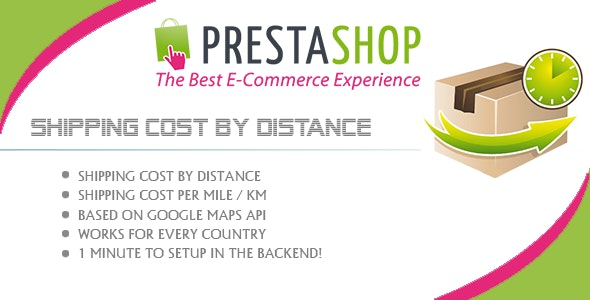 Prestashop Shipping Cost Based on Distance - CodeCanyon Item for Sale