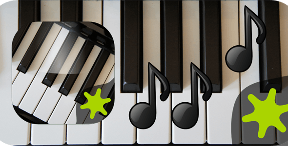 Piano Instrument Application with Admob