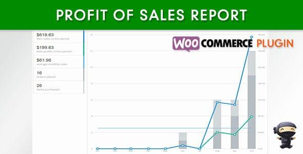 WooCommerce Profit of Sales Report