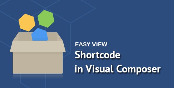 Easy View Shortcode in WPBakery Page Builder