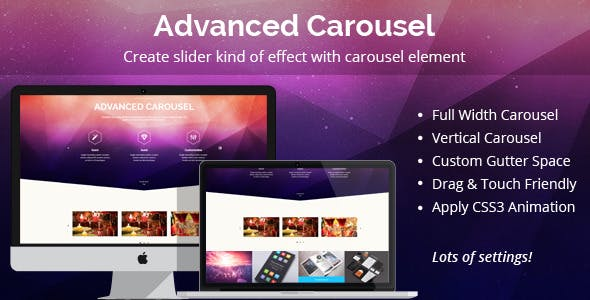 Advanced Carousel for WPBakery Page Builder