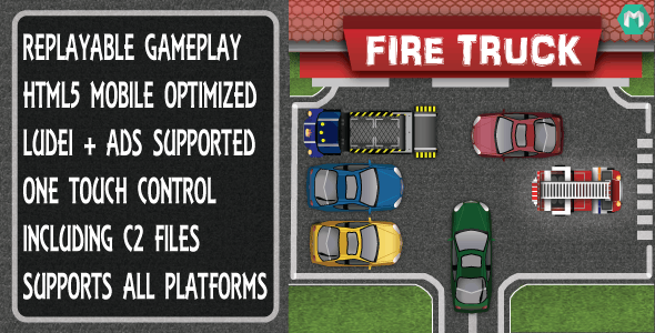 Fire Truck - CodeCanyon Item for Sale