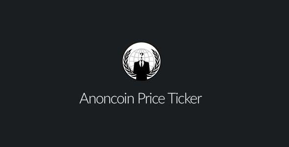 Anoncoin Price Ticker