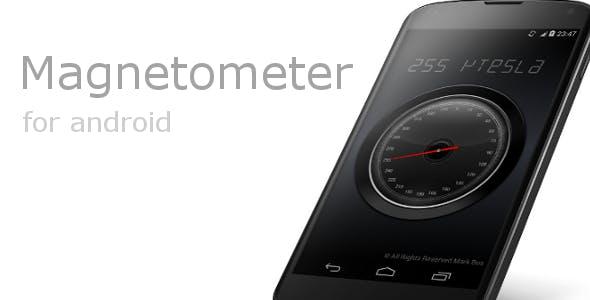Magnetometer (Metal & Magnet detector)