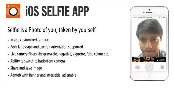 Selfie iOS App - CodeCanyon Item for Sale