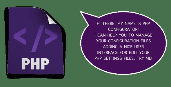 PHP Configurator