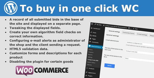 To buy in one click for WooCommerce - CodeCanyon Item for Sale