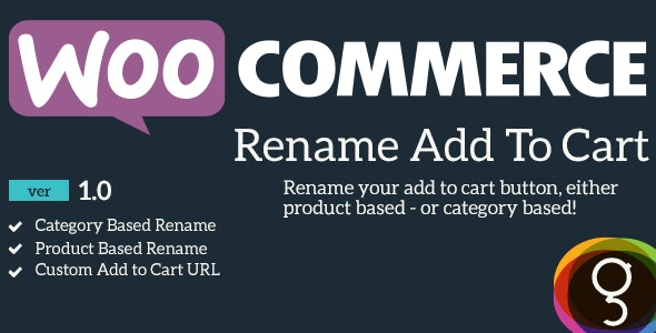 WooCommerce Rename Add To Cart - CodeCanyon Item for Sale