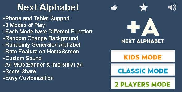 Next Alphabet - CodeCanyon Item for Sale