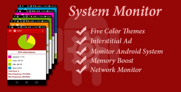System Monitor - CodeCanyon Item for Sale