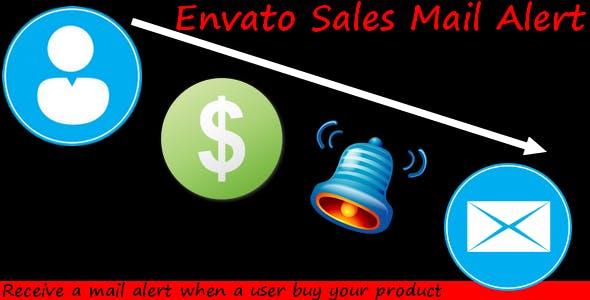 Envato Sales Mail Alert