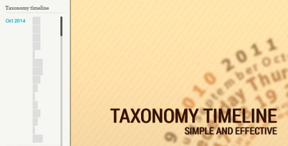 Taxonomy timeline - CodeCanyon Item for Sale