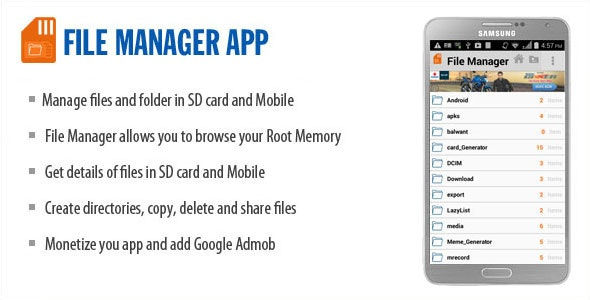 File Manager  - CodeCanyon Item for Sale