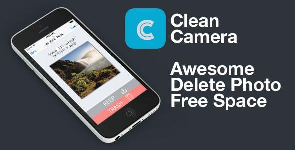 Clean Camera - Delete Camera Photos - IOS 9 V1.2