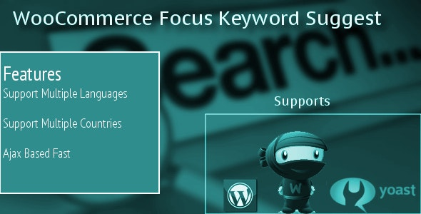 WooCommerce Product Keyword Suggest - CodeCanyon Item for Sale