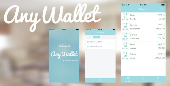 AnyWallet - CodeCanyon Item for Sale