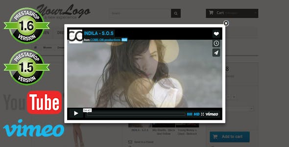 Prestashop Youtube And Vimeo Product Videos
