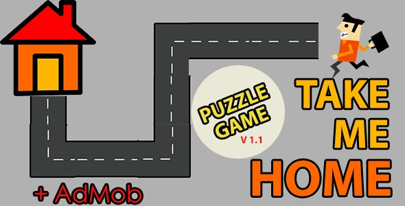 Take Me Home - Android Game With Admob - CodeCanyon Item for Sale