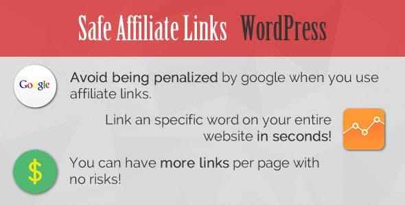 Safe Affiliate Links - WordPress Plugin
