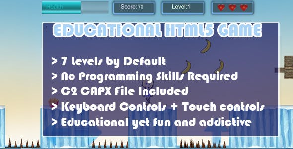 Educational HTML5 Game