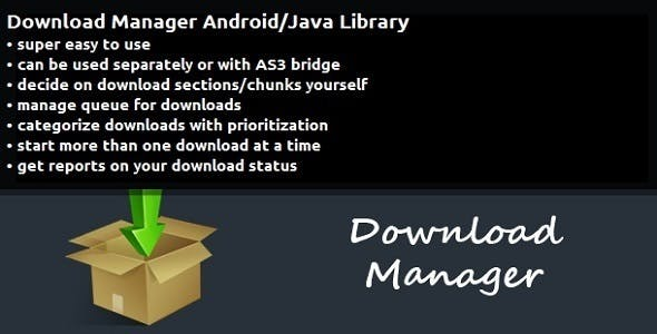 Download Manager Android/Java Library