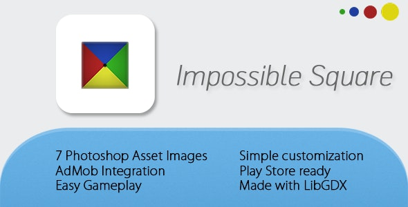Impossible Square Game - CodeCanyon Item for Sale
