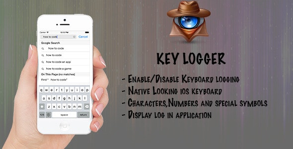 iPhone Keylogger - CodeCanyon Item for Sale