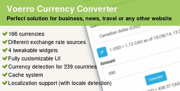 Converter Plugins, Code & Scripts from CodeCanyon
