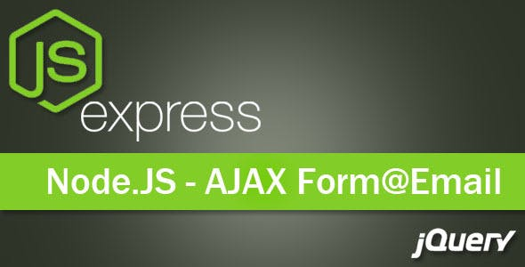 AJAX Contact Form - NodeJs