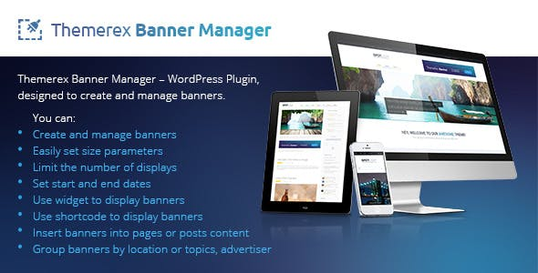 ThemeRex Banner WP Plugin | Create and Manage