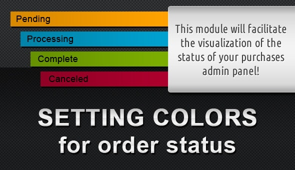Colors for Orders Status (vQmod) - CodeCanyon Item for Sale
